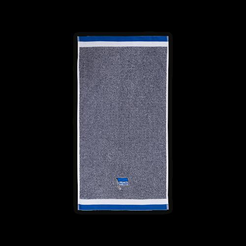 Handtuch blau melange