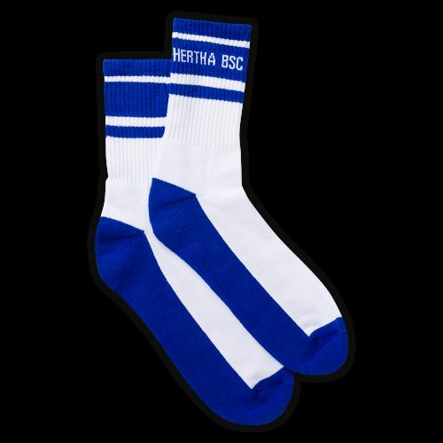 HBSC Sportsocken blau-weiss 2er Set