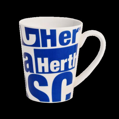 Tasse Hertha BSC Schriftzug