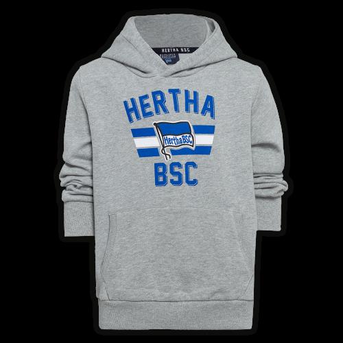 Hoodie Kinder Hertha BSC grau Gr. 140