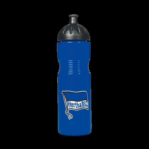 HBSC Trinkflasche Fahne blau 0,75l