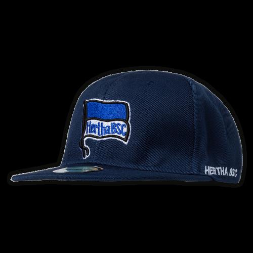 HBSC Flatcap Logo navy