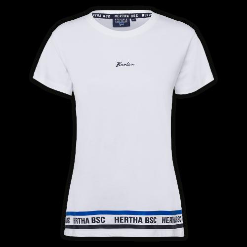 HBSC T-Shirt Damen Berlin weiss