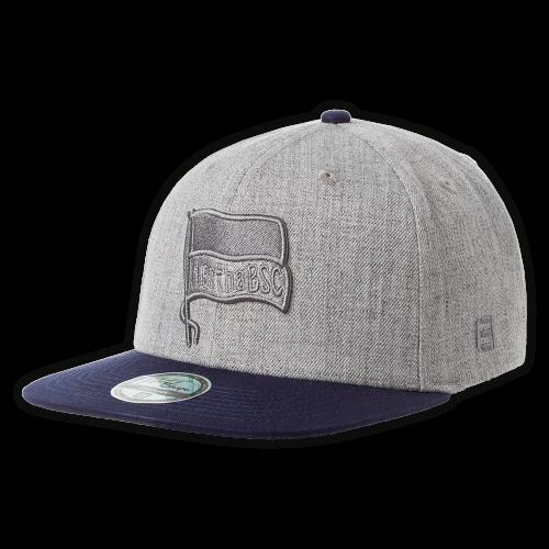Flatcap Logo grau