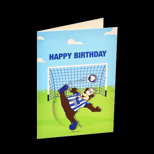 HBSC Grußkarte Happy Birthday